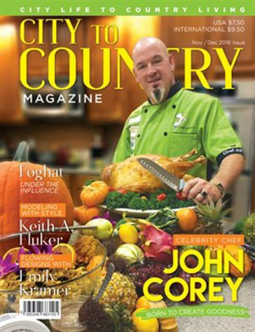 City To Country Magazine - Nov/Dec 2016 9