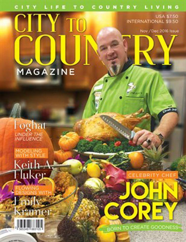 City To Country Magazine - Nov/Dec 2016 1