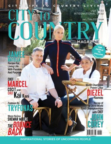 City To Country Magazine - Jan/Feb 2017 3
