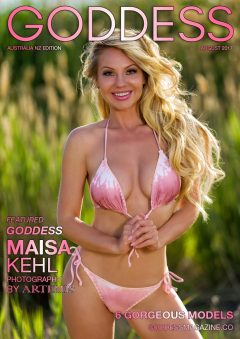 Goddess Magazine – August 2017 – Maisa Kehl