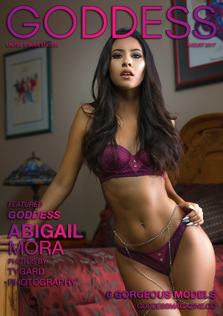 Goddess Magazine – August 2017 – Abigail Mora 1