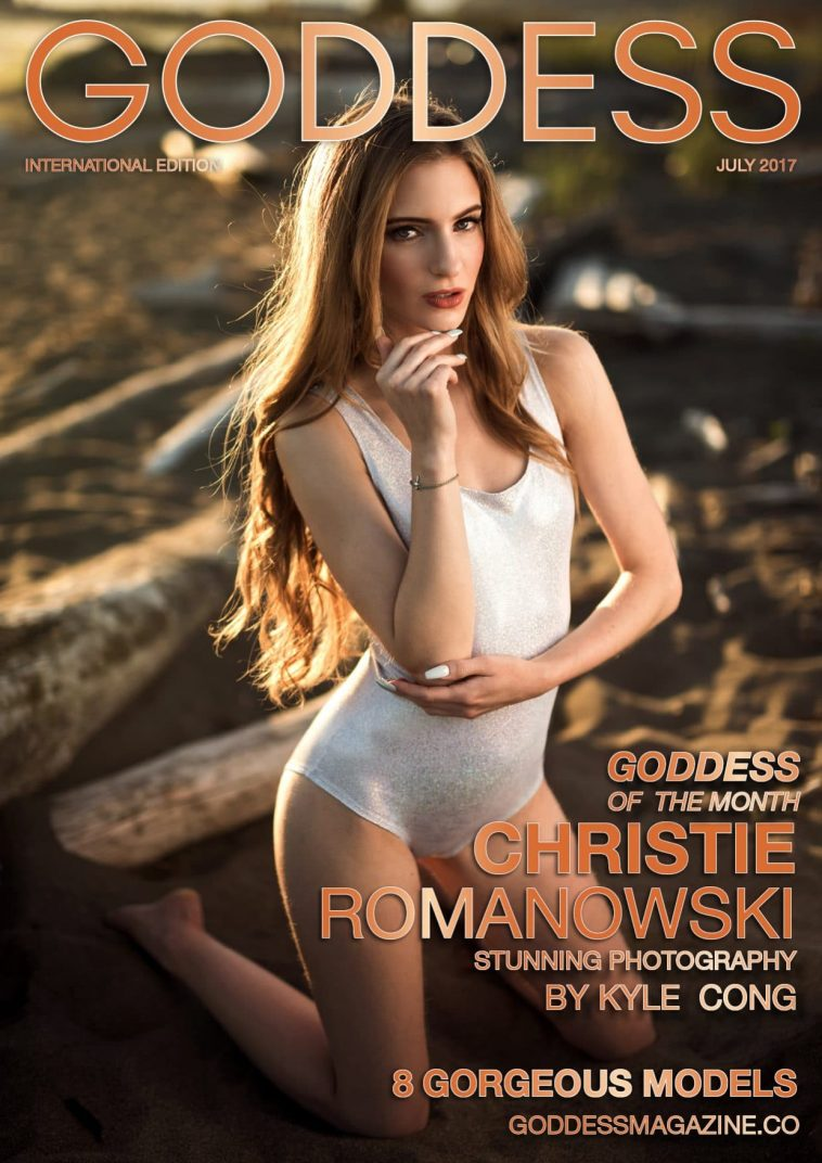 Goddess Magazine - July 2017 - Christie Romanowski 1