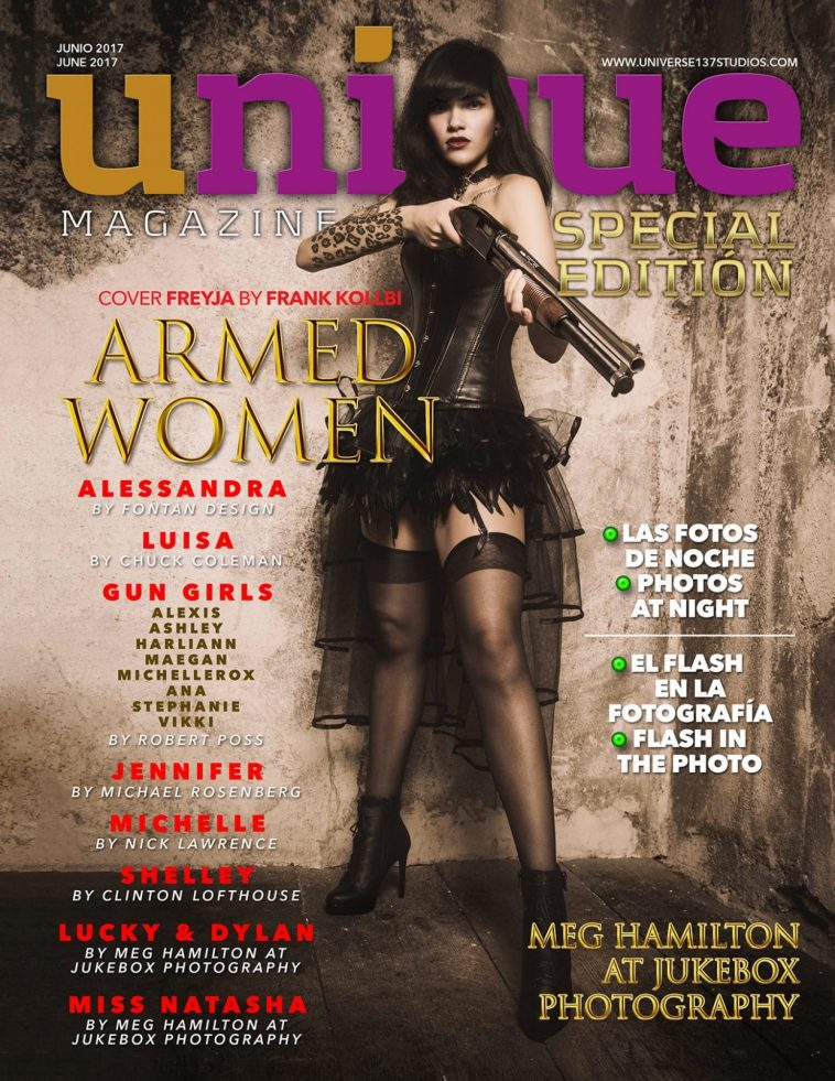 Unique Magazine - Special Edition - Armed Women 1