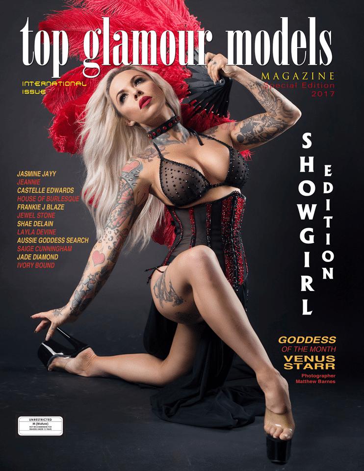 Australia's Top Glamour Models Magazine – Showgirl Edition