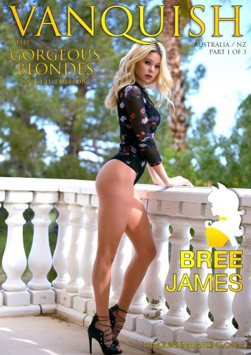 Vanquish Magazine - Gorgeous Blondes - Bree James 10