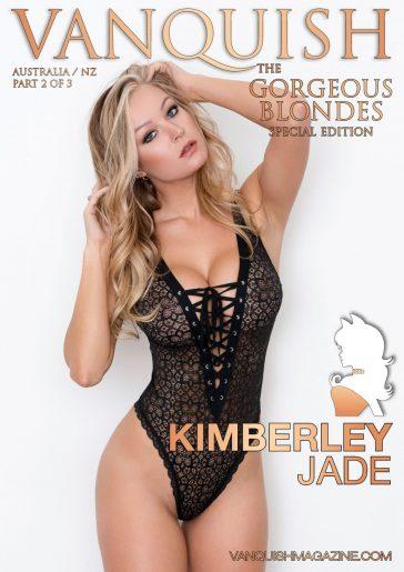 Vanquish Magazine - Gorgeous Blondes - Kimberley Jade 2
