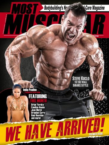 Most Muscular Magazine – Premier Issue 2017