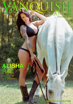 Vanquish Tattoo Magazine - October 2015 - Alisha Rae 20