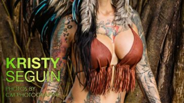 Vanquish Tattoo Magazine - March 2016 - Kristy Seguin 12