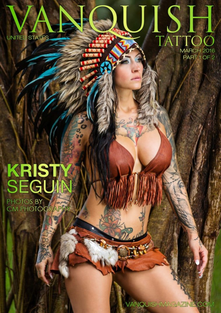 Vanquish Tattoo Magazine - March 2016 - Kristy Seguin 1