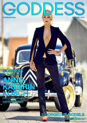 Goddess Magazine – January 2019 – Anne-Kathrin Kosch 7