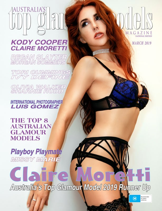 Australia's Top Glamour Models - March 2019 - Claire Moretti 1