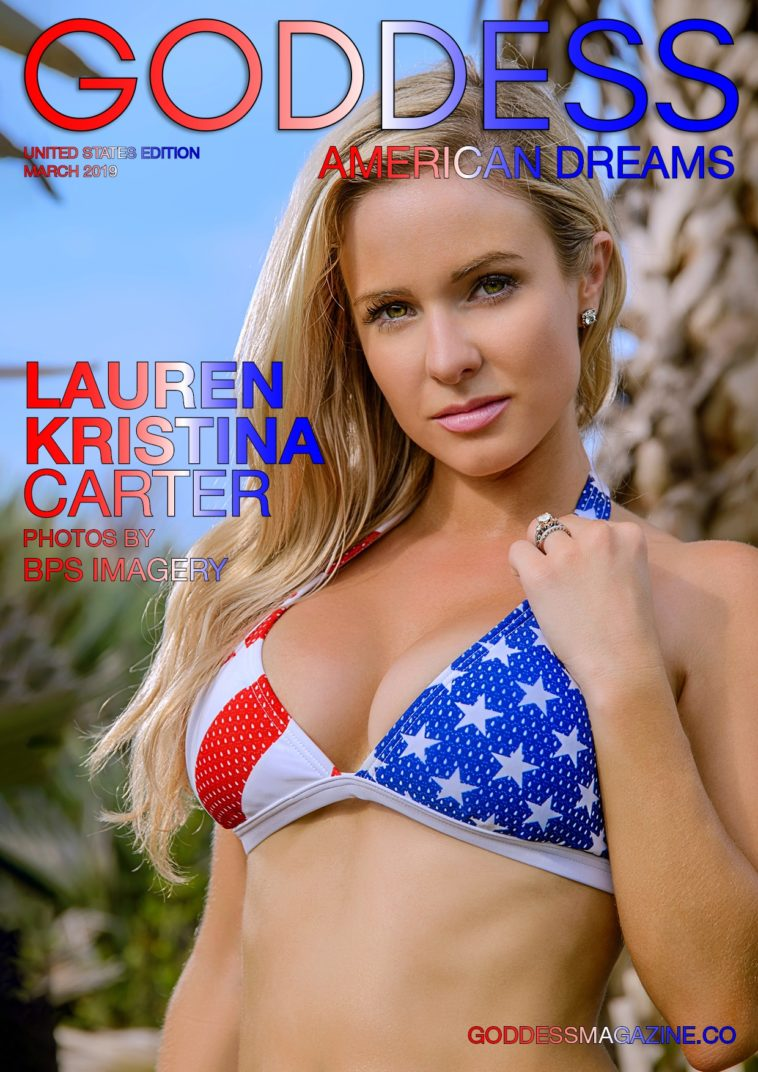 Goddess American Dreams - June 2019 - Lauren Kristina Carter 1