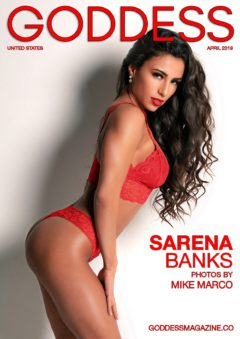 Goddess Magazine – April 2019 – Sarena Banks 20