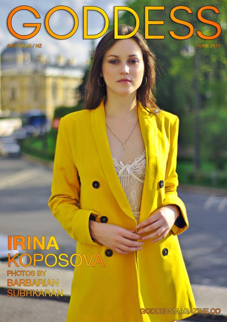 Goddess Magazine – June 2019 – Irina Koposova 1