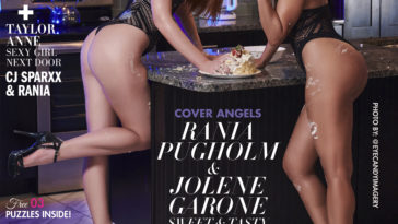 Elite Angels Magazine – August 2019 – Rania Pugholm and Jolene Garone