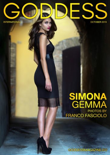 Goddess Magazine – October 2019 – Simona Gemma 4