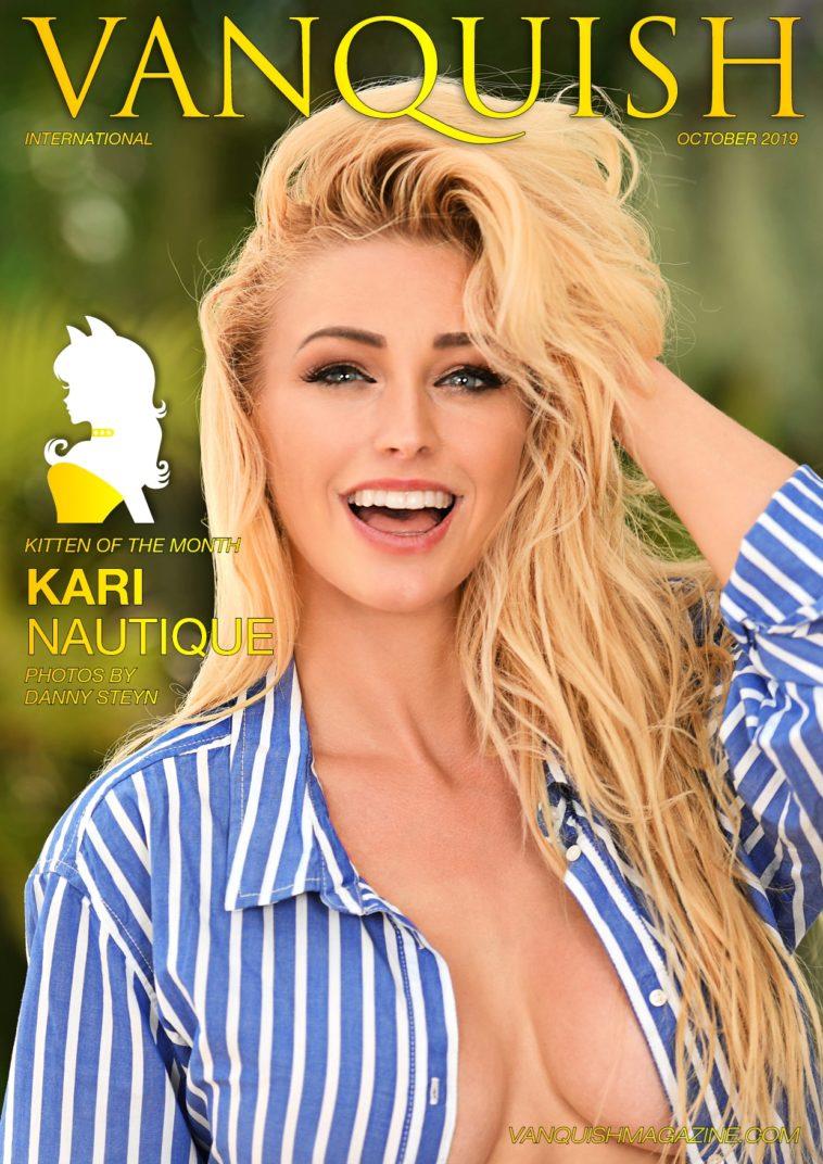 Vanquish Magazine - October 2019 - Kari Nautique 1