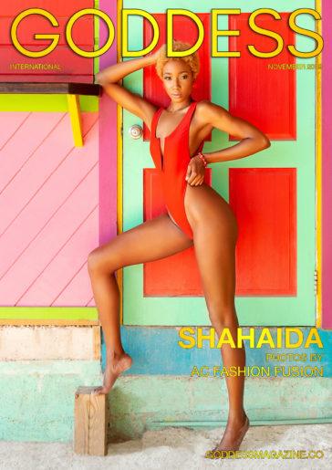 Goddess Magazine – November 2019 – Shahaida