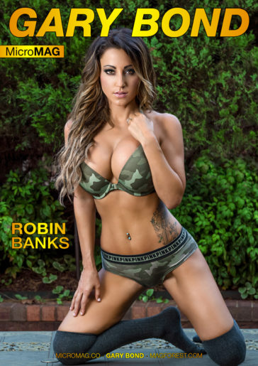 Gary Bond MicroMAG – Robin Banks – Issue 3