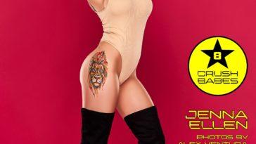 Crush Magazine – January 2020 – Jenna Ellen