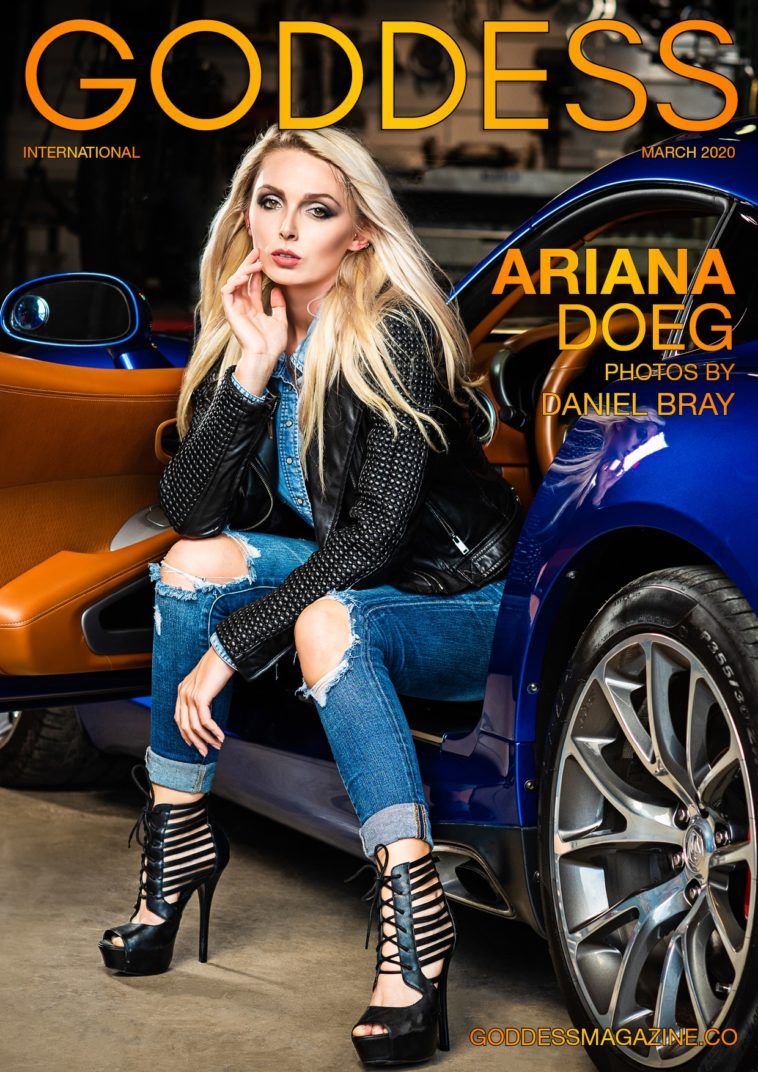 Goddess Magazine – March 2020 – Ariana Doeg 1