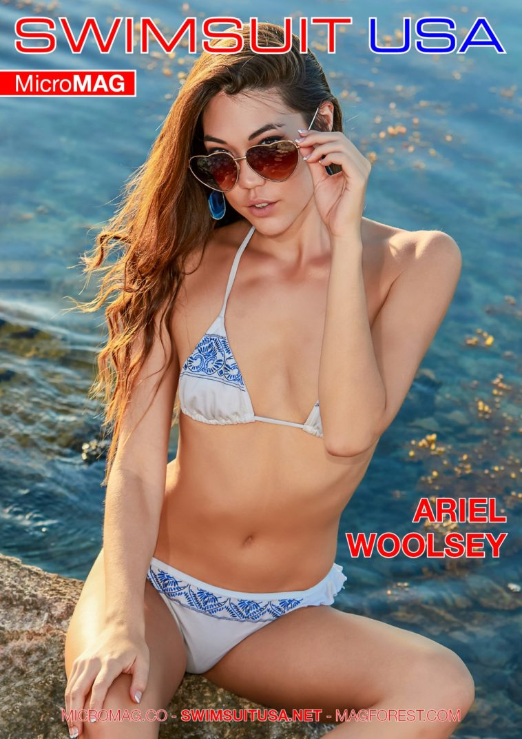 Swimsuit USA MicroMAG - Ariel Woolsey 1