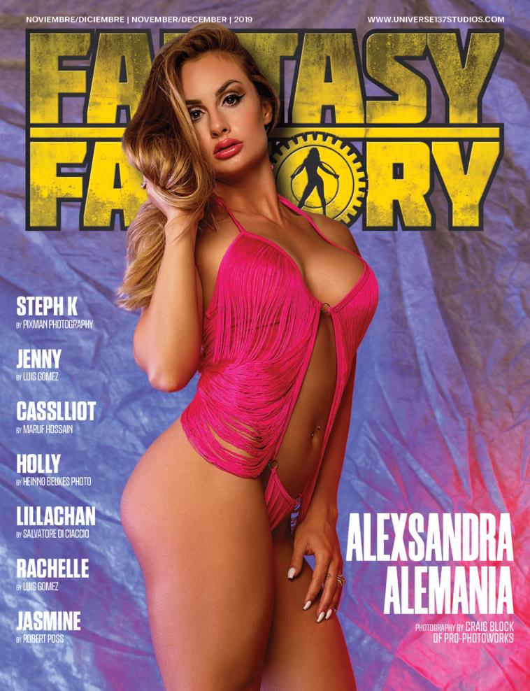 Fantasy Factory Magazine - November 2019 1