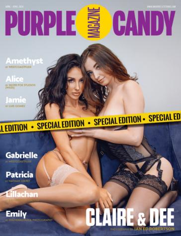 Purple Candy Magazine - April 2020 - UK Edition 3