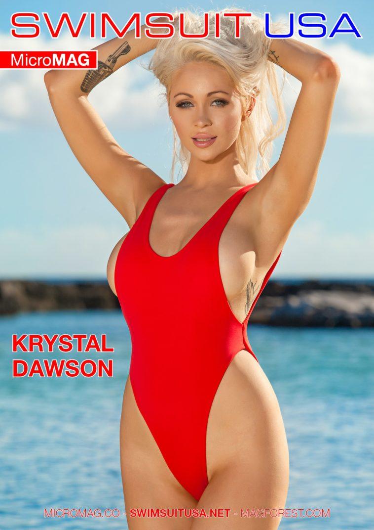 Swimsuit USA MicroMAG - Krystal Dawson 1