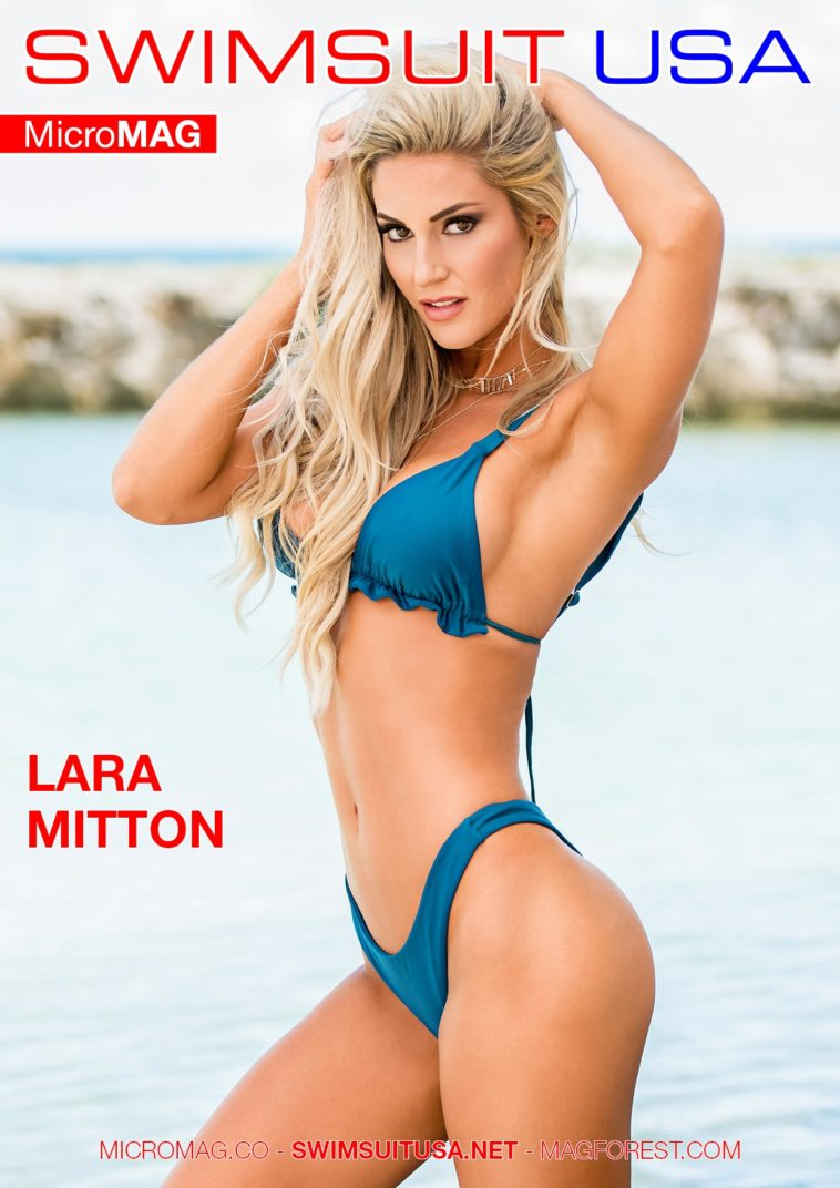 Swimsuit USA MicroMAG - Lara Mitton 1