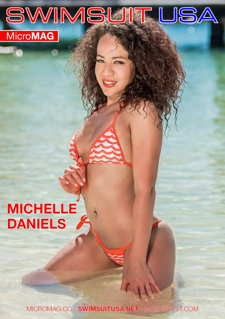 Swimsuit USA MicroMAG - Michelle Daniels 1