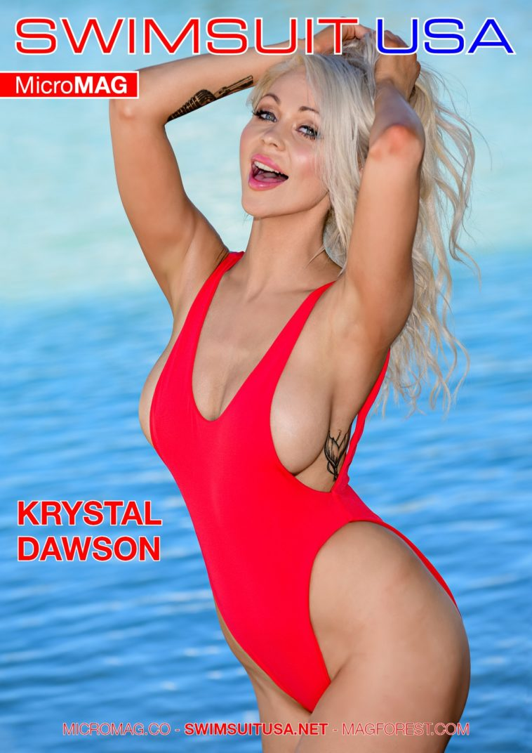 Swimsuit USA MicroMAG - Krystal Dawson - Issue 2 1