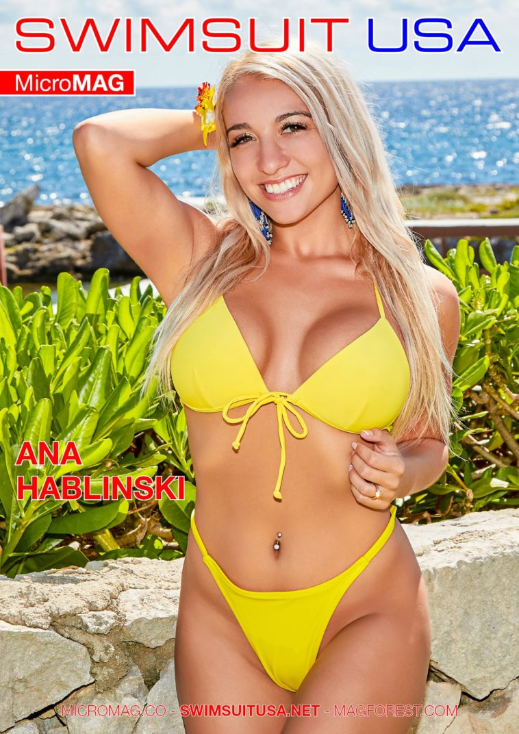 Swimsuit USA MicroMAG - Ana Hablinski - Issue 3 1