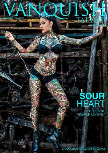 Vanquish Tattoo - April 2020 - Sour Heart 1