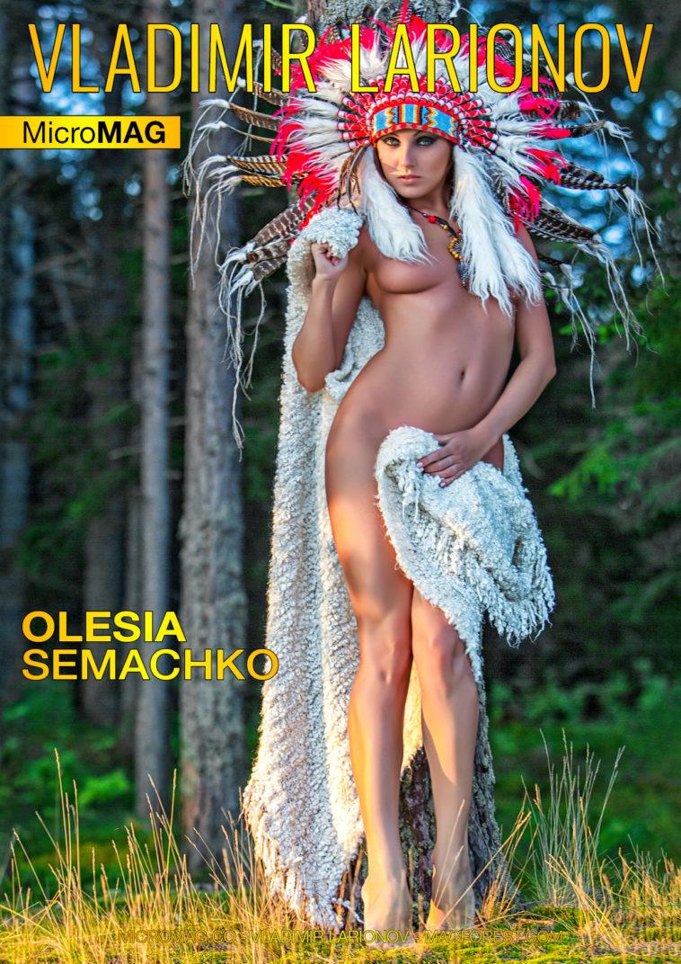 Vladimir Larionov MicroMAG - Olesia Semachko - Issue 2 1