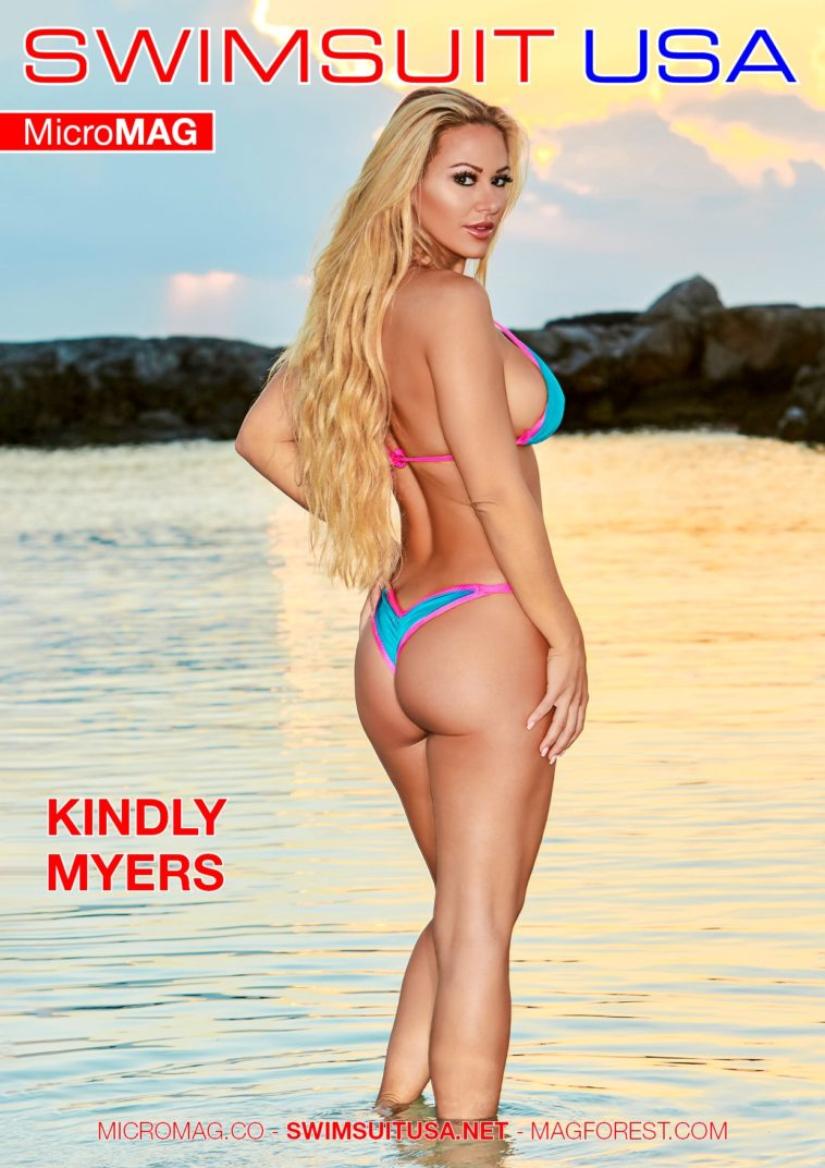 Swimsuit USA MicroMAG - Kindly Myers - Issue 1 1