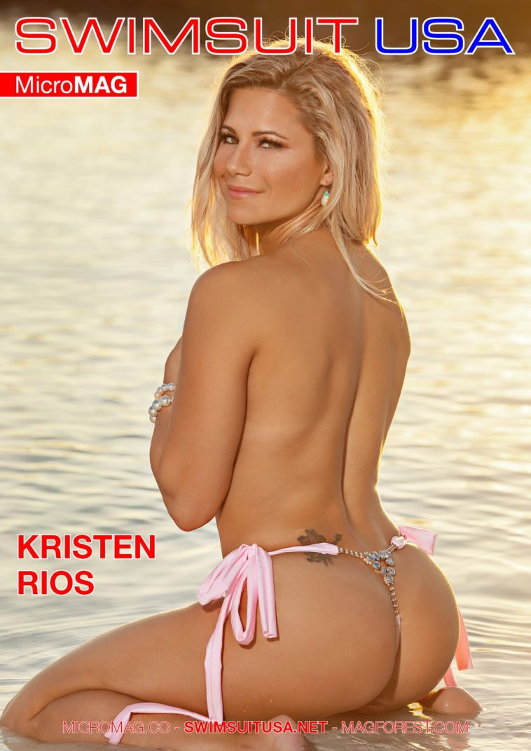 Swimsuit USA MicroMAG - Kristen Rios - Issue 2 1
