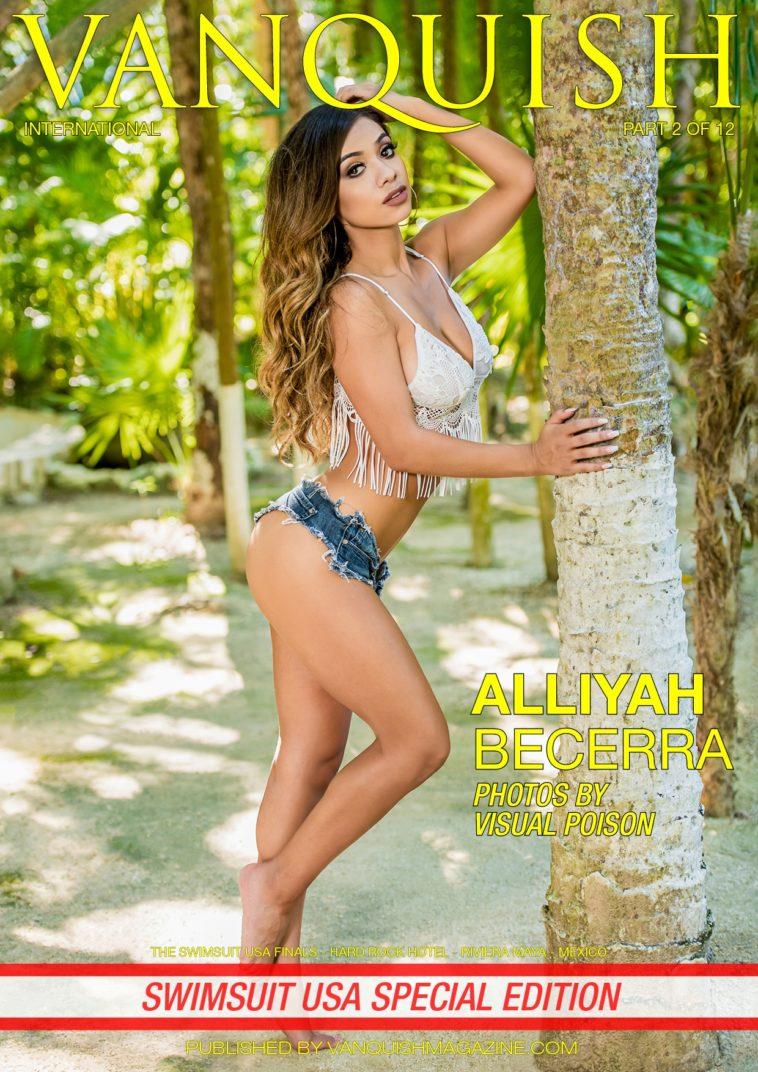 Vanquish Magazine - Swimsuit USA 2018 - Part 2 - Alliyah Becerra 1