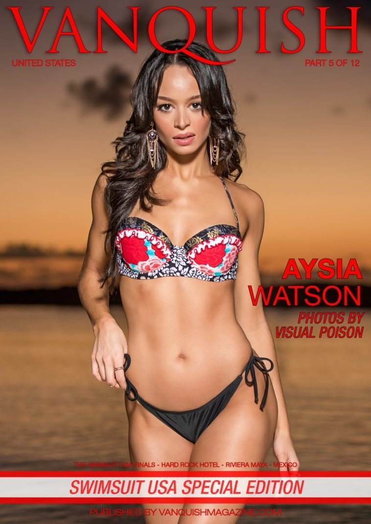 Vanquish Magazine - Swimsuit USA 2018 - Part 5 - Aysia Watson 1