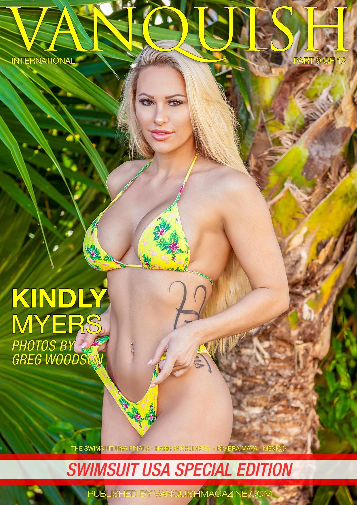 Vanquish Magazine - Swimsuit USA 2018 - Part 9 - Kindly Myers 1