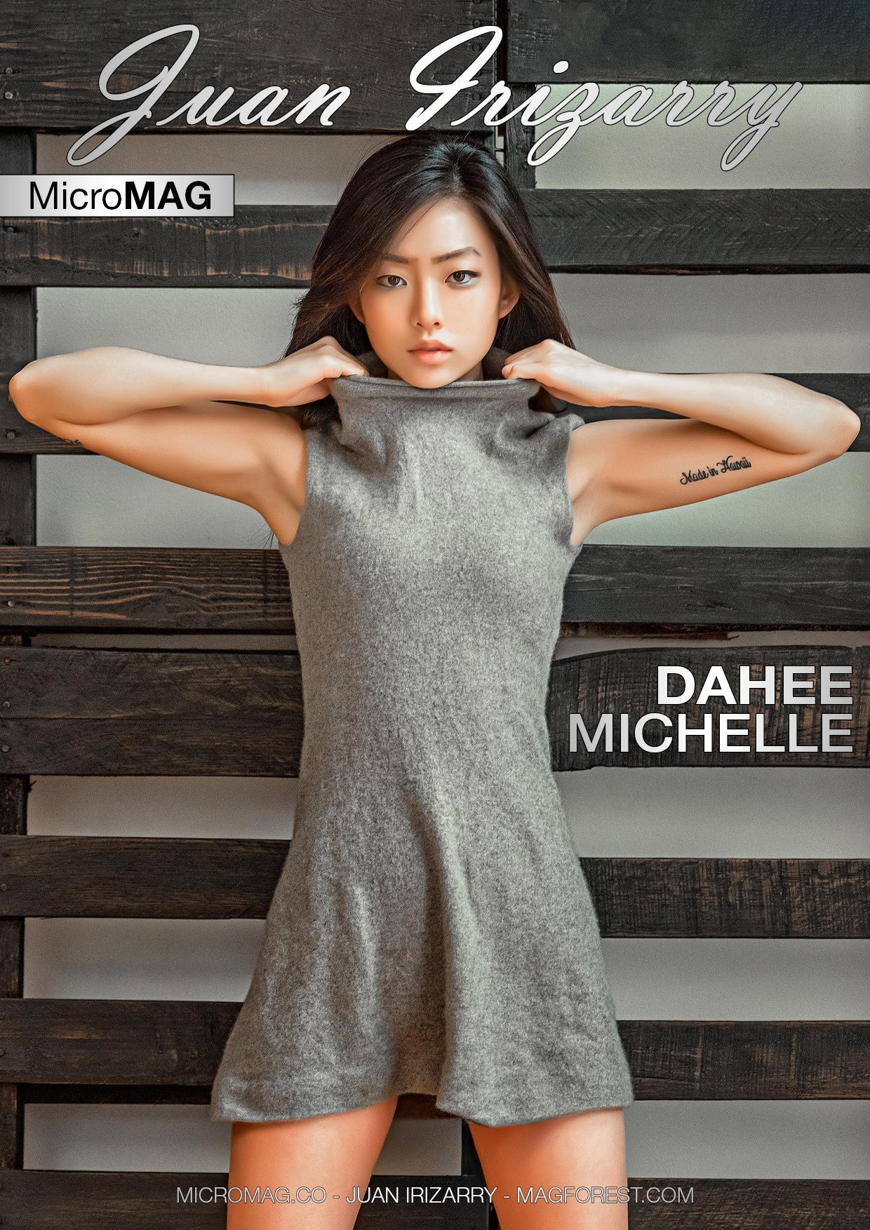 Juan Irizarry MicroMAG - Dahee Michelle - Issue 2 2