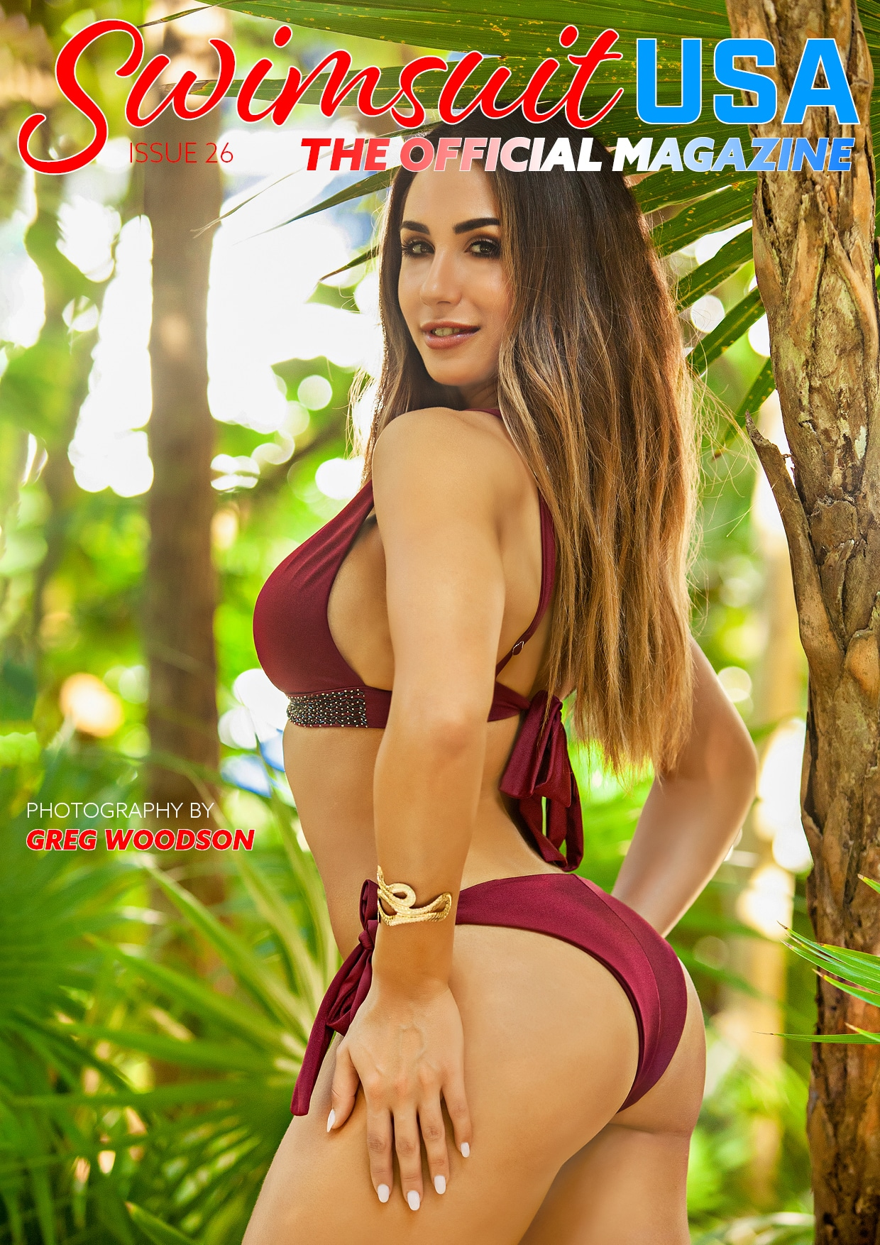 Swimsuit USA Magazine - Issue 24 - Emily Daffas 3