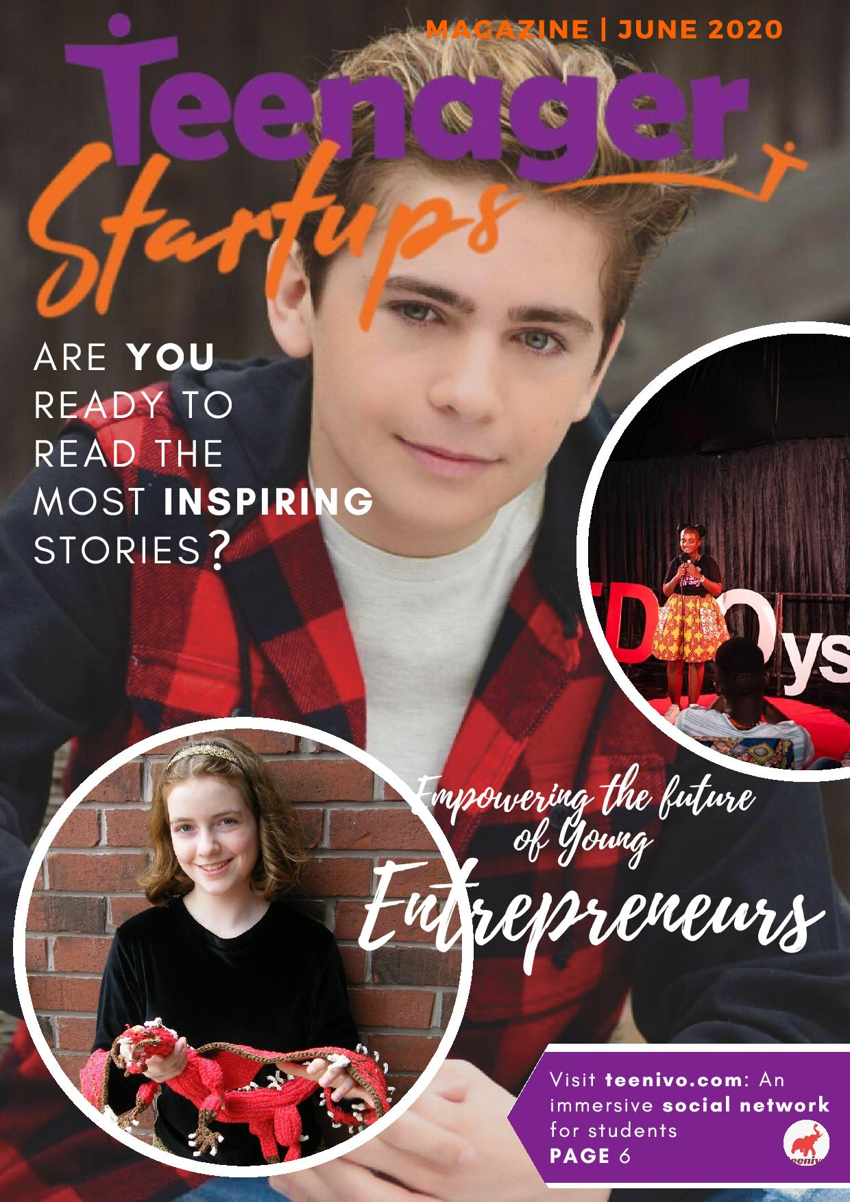 Teenager Startups Magazine - March 2020 2