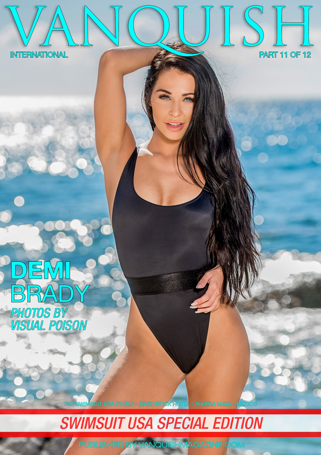 Vanquish Magazine - Swimsuit USA 2018 - Part 11 - Demi Brady 1
