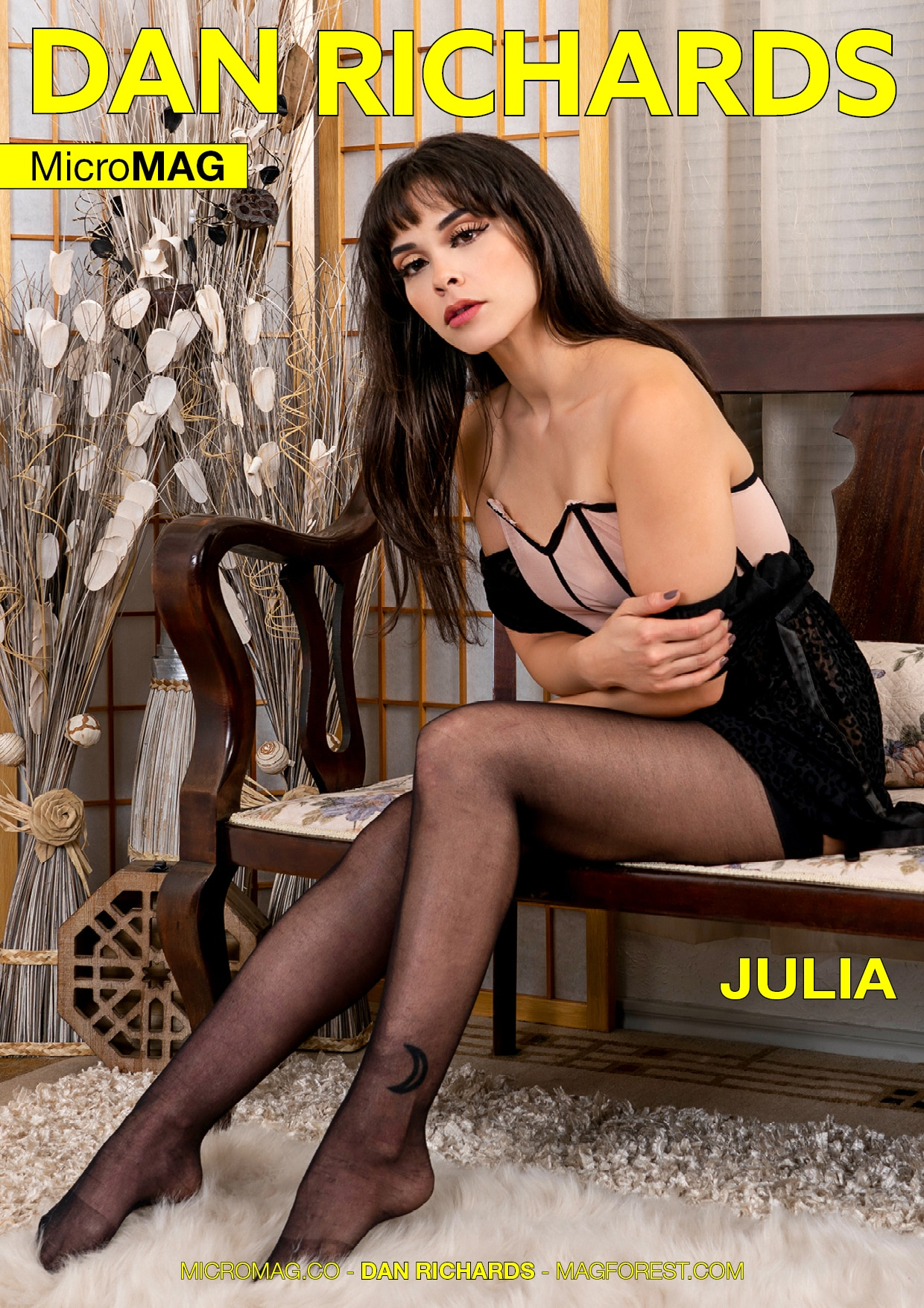 Dan Richards MicroMAG - Julia - Issue 3 2