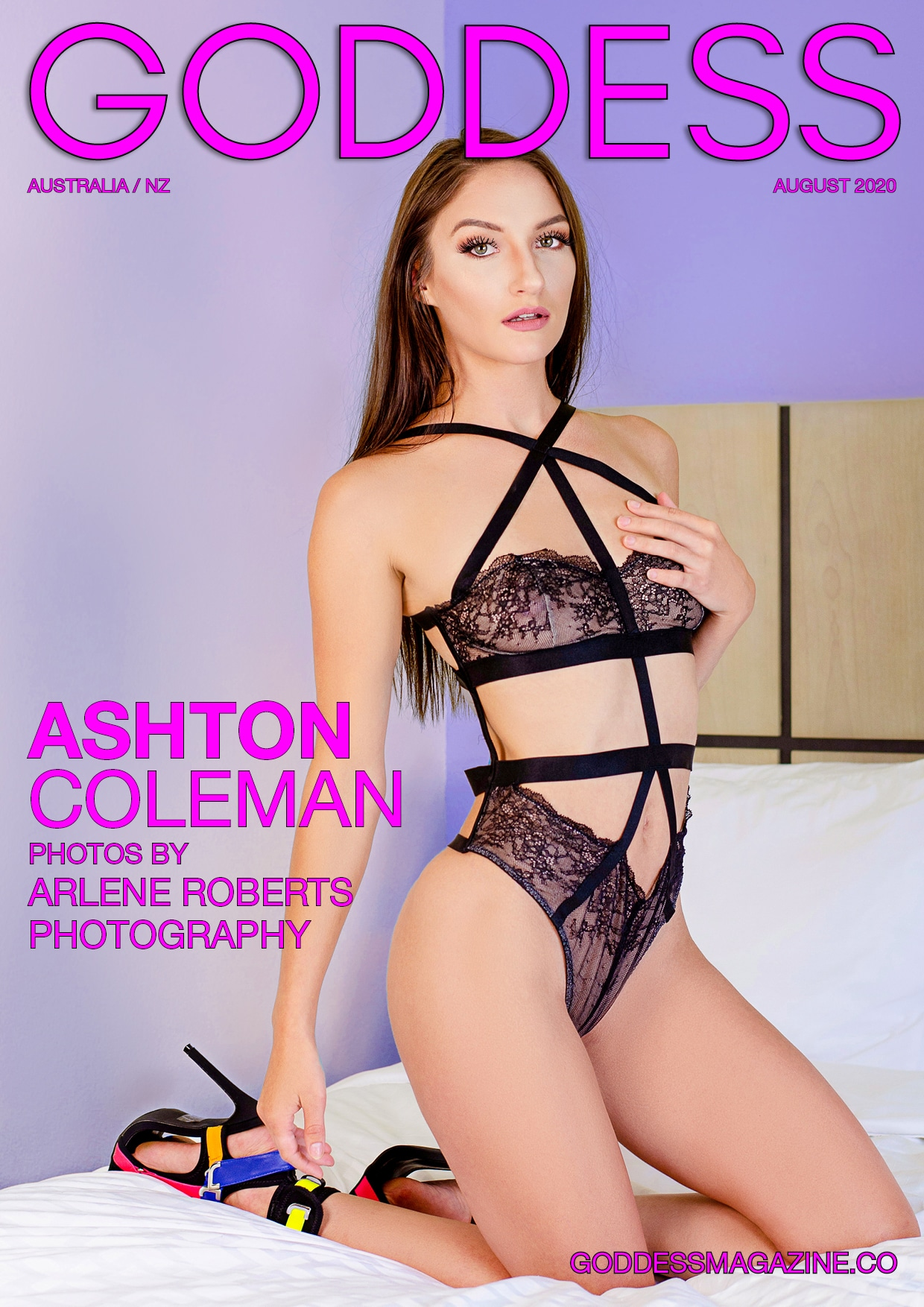 Goddess Magazine - August 2020 - Ashton Coleman 1