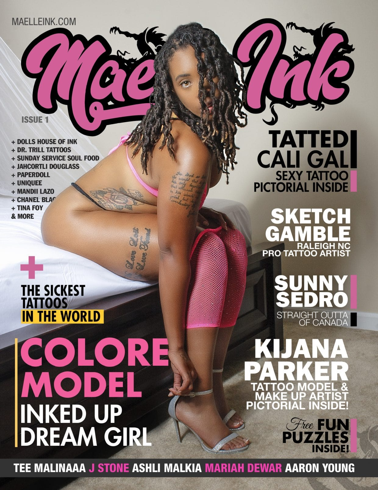 Maelle Ink Magazine – Issue 1 – Colore 1