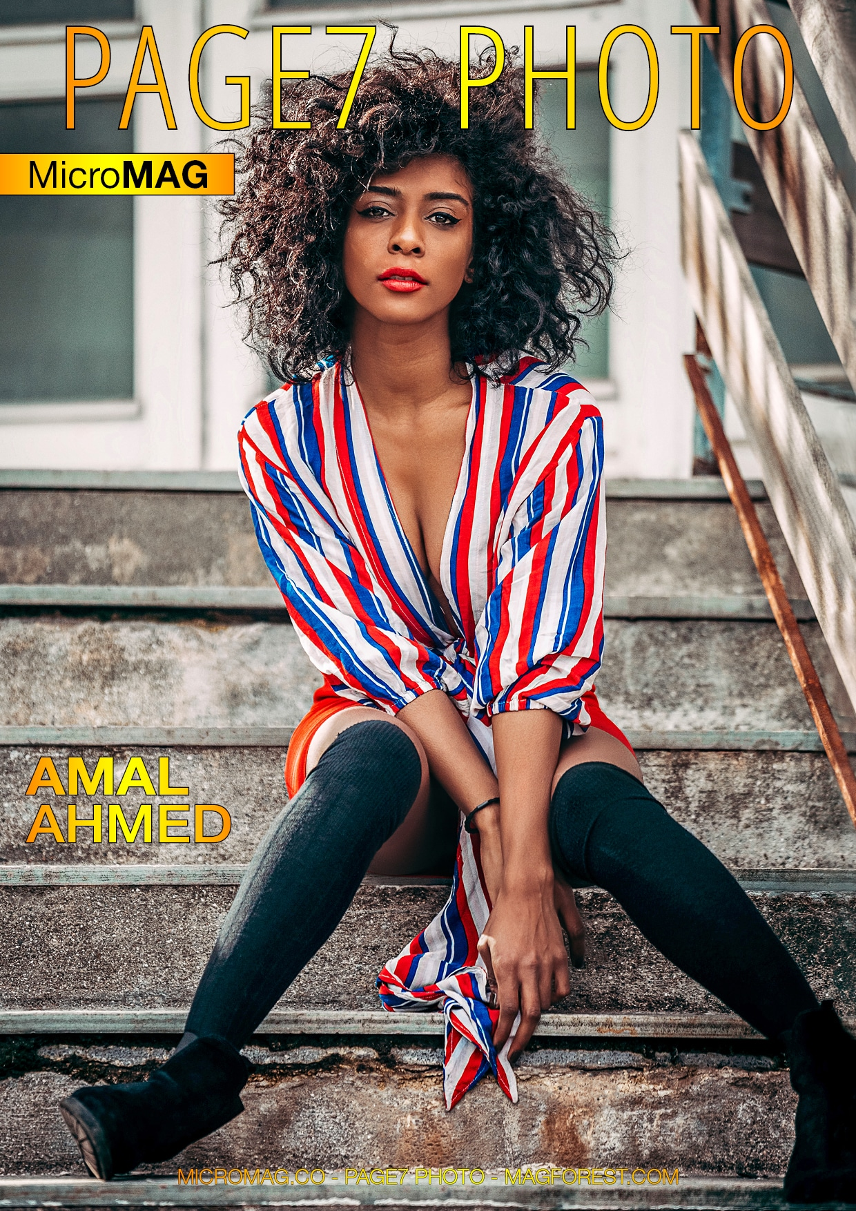 PAGE7 Photo MicroMAG - Amal Ahmed - Issue 2 1