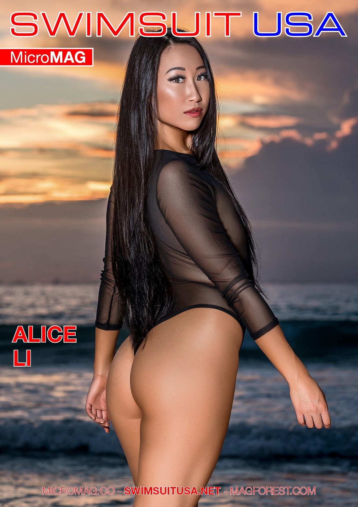 Swimsuit USA MicroMAG - Alice Li - Issue 2 3